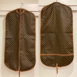 Authentic Louis Vuitton garment bag
